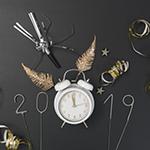 Leuchtkasten Silvester 2018/2019